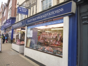 Burtons Butchers, Saffron Walden