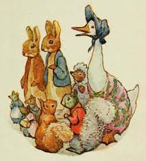 Beatrix Potter's favourite characters