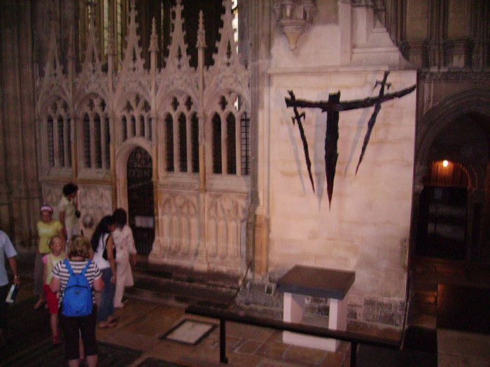 Place where Becket was murdered
