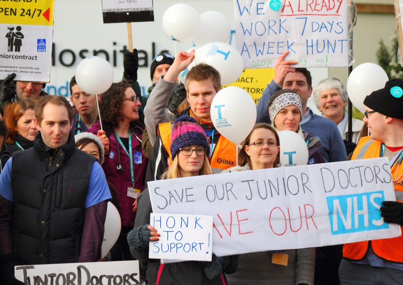 Recent junior doctors' strike