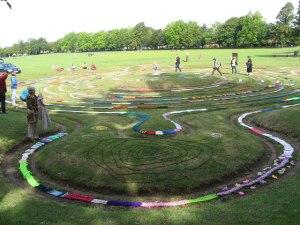 Saffron Walden turf labyrinth