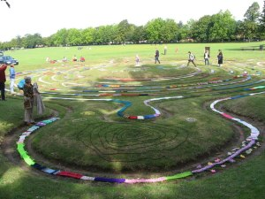 Saffron Walden turf labyrinth
